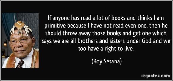 Roy Sesana 2005