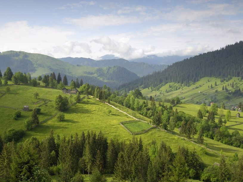 carpathian-mountains Hunish area