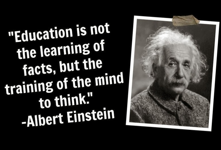 albert-einstein-Education