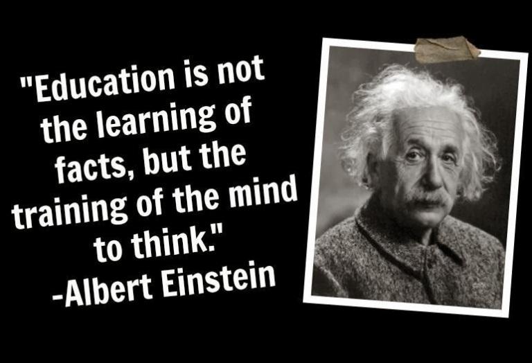 albert-einstein-Education