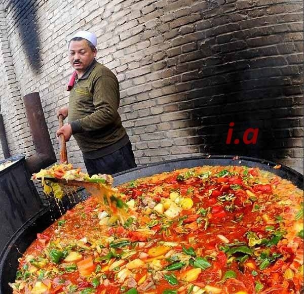 Turkistan pot of soup