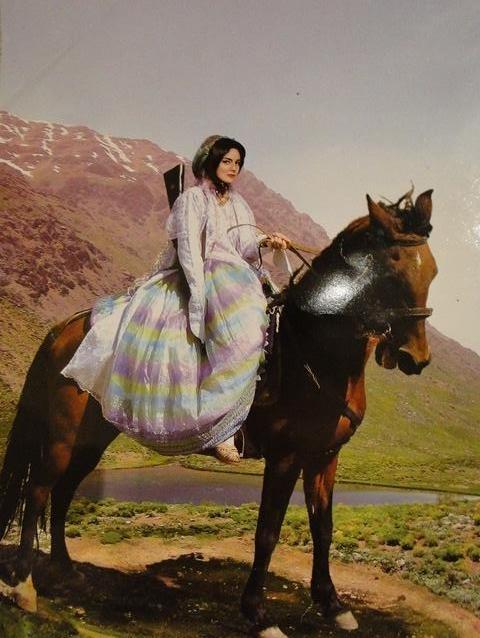 Pars horsewoman